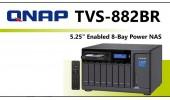 Новинка от QNAP. Сетевое хранилище TVS-882BR с отсеком для оптического привода.